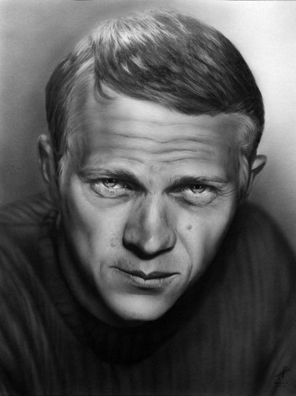 Steve McQueen por miualpainter